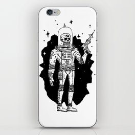 Intergalactic Bone Man iPhone Skin