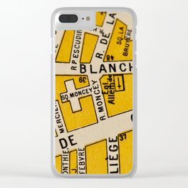 All About Paris I Clear iPhone Case