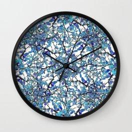 Modern Nouveau Pattern Wall Clock