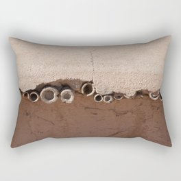 rotated rustic roof Rectangular Pillow