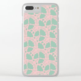 Butterflies? flowers? or maybe a strange pattern? Clear iPhone Case
