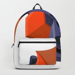 Baboon Head Flat Icon Backpack