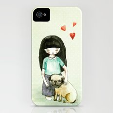 Pug is my best friend Slim Case iPhone (4, 4s)