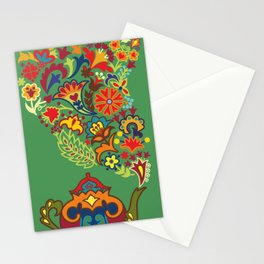 Tea drinking Stationery Cards