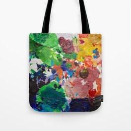 Palette of Colors Tote Bag