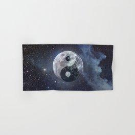 Yin Yang Moon Hand & Bath Towel