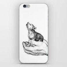 Wolf Cub // Graphite iPhone & iPod Skin
