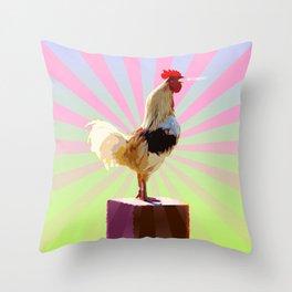 Good Morning! Throw Pillow