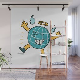 Earth is a good boy Wall Mural