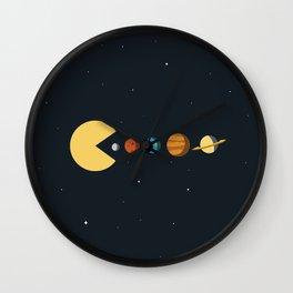 Planets #buyart #society6 Wall Clock