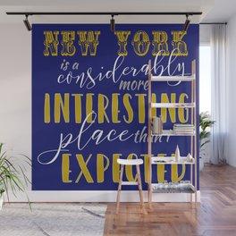 New York - Fantastic Beasts Wall Mural
