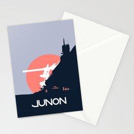 Final Fantasy VII - Visit Junon Propaganda Poster Stationery Cards