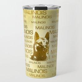 Golden Belgian Malinois - Mechelaar  - Maligator Travel Mug