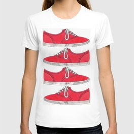 Red Shoe. T-shirt