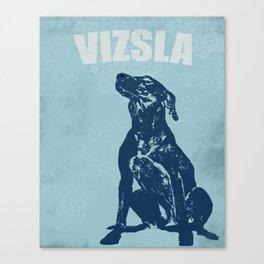 Vizsla Dog Art Canvas Print
