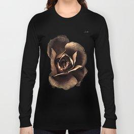 Rose noire qui s'ouvre colors fashion Jacob's Paris Long Sleeve T-shirt