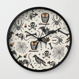 Halloween X-Ray Wall Clock