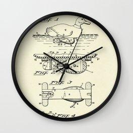 Self-Propelled Duck Decoy-1963 Wall Clock