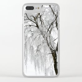 wintertime Clear iPhone Case