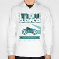 tron Hoodies featuring Tron Legacy by HomePosters