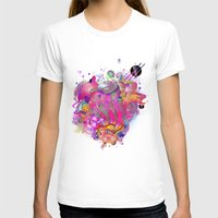 archan nair T-shirts featuring Purplescape by Archan Nair