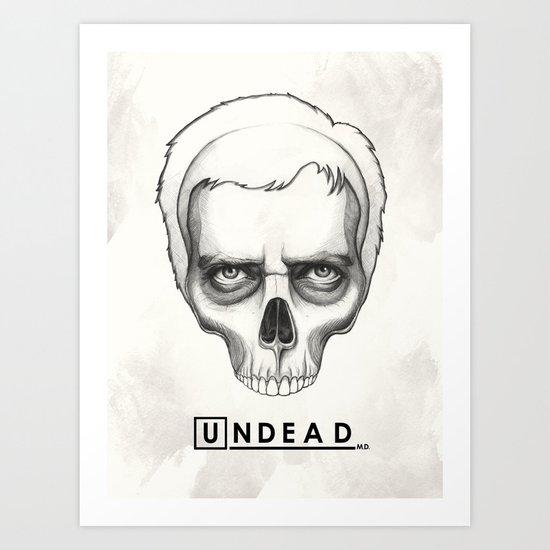 House MD  Art Print