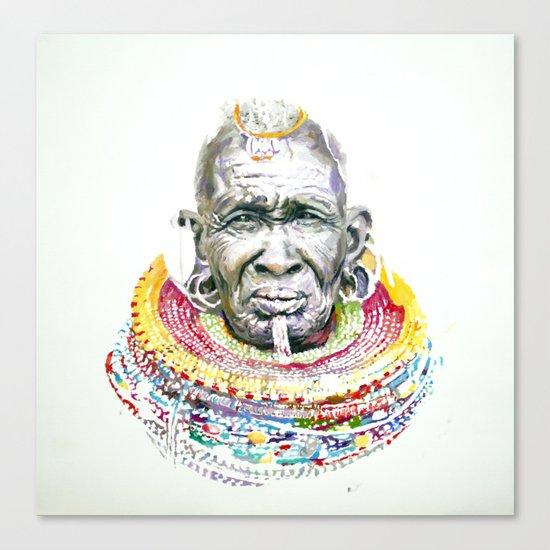 Maasai Canvas Print