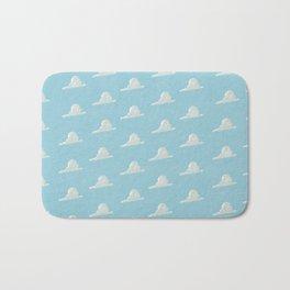 Head in the Clouds Pattern Bath Mat