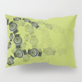 Green D2 Pillow Sham