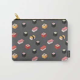 Isometric Sushi Pattern Carry-All Pouch