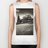budapest hotel Biker Tanks featuring Hotel by DistinctyDesign