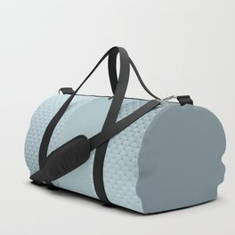 Blue mother of pearl Duffle Bag