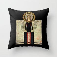 Renaissance Madonna Throw Pillow