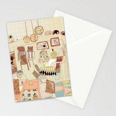 ---garden--cafe--- Stationery Cards