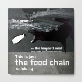food chain 1 Metal Print