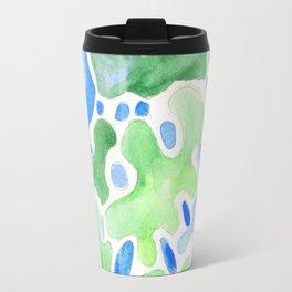170623 Colour Shapes Watercolor 13 Travel Mug