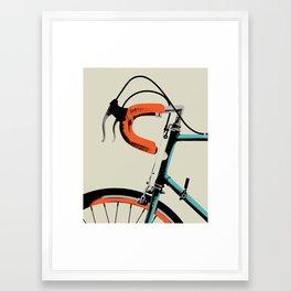 Bike Portrait 2 Framed Art Print
