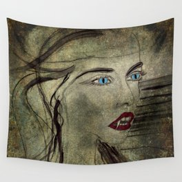 The Vampress Wall Tapestry