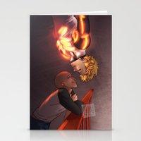 johannathemad Stationery Cards featuring SaiGenos by JohannaTheMad