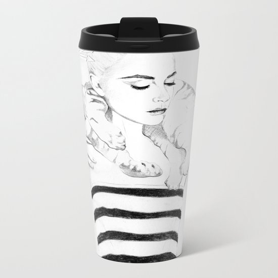 Girl Crush #1 - Erika Bearman Metal Travel Mug