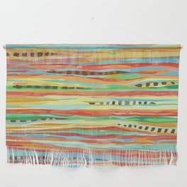 stripes & striped Wall Hanging