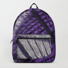 Abstract purple Backpack