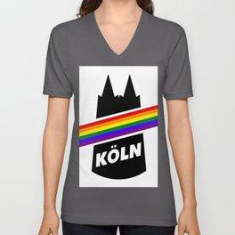 Köln Gay Pride Christopher Street Day CSD LGBT Unisex V-Neck