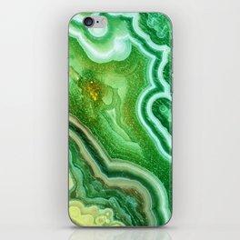 Green Onyx Marble iPhone Skin