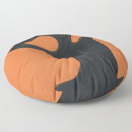 Abstract Nude I Floor Pillow