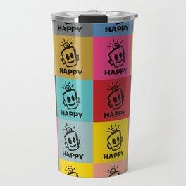 HAPPY SQUARES Travel Mug