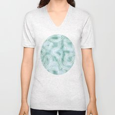 Knotty Abstract Unisex V-Neck