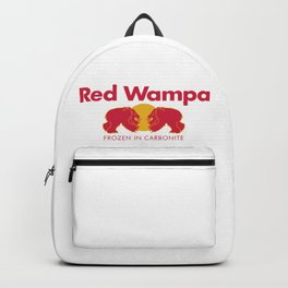 Red Reptomammal Drink - Energy for Space Wizardry Backpack