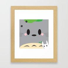 To-toro Block Framed Art Print