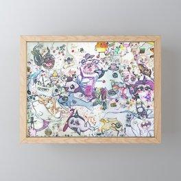 LSD under the sea Framed Mini Art Print